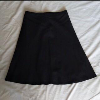クイーンズコート(QUEENS COURT)のフレアスカート(ひざ丈スカート)
