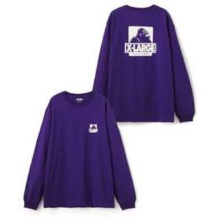 エクストララージ(XLARGE)のxlarge ロンT パープル 紫(Tシャツ/カットソー(七分/長袖))