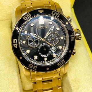 インビクタ(INVICTA)の[定価約10万円] INVICTA Pro Diver SCUBA 18K GP(腕時計(アナログ))