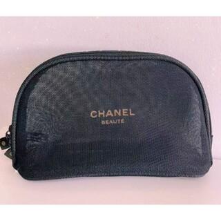 CHANEL - ⭐️シャネル ポーチ メッシュポーチ 化粧ポーチ ブラック