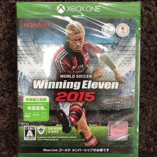 エックスボックス(Xbox)のワールドサッカー ウイニングイレブン 2015 (家庭用ゲームソフト)