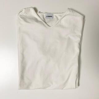 Jil Sander - jilsander ジルサンダー イタリア製 Tシャツ Vネック