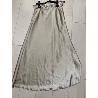 アルシーヴ(archives)のサテンスカート  サテンパンツけいまる様専用(ロングスカート)