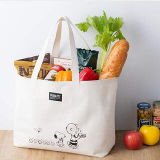 SNOOPY - cookpad plus 2021年 春号【付録】スヌーピー トートバッグ