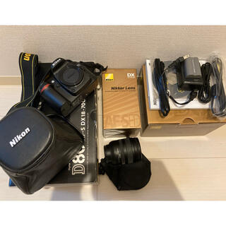 Nikon - nicon 一眼レフ デジタルカメラ レンズ付き