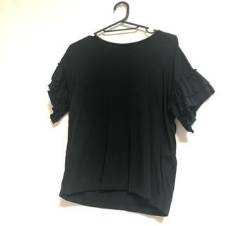 ロペピクニック(Rope' Picnic)のロペピクニック  フリル袖Tシャツ(Tシャツ(半袖/袖なし))