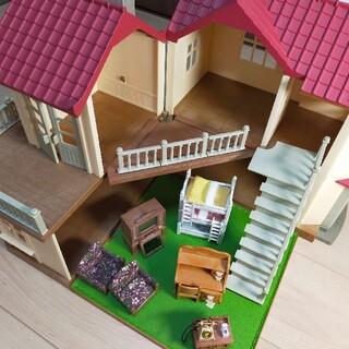 エポック(EPOCH)のシルバニアファミリー あかりの灯る大きなお家 家具セット(その他)