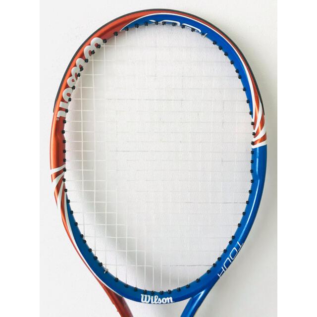 wilson(ウィルソン)の美品/ウィルソン『ツアーTOUR BLX 105』テニスラケット/オレンジブルー スポーツ/アウトドアのテニス(ラケット)の商品写真