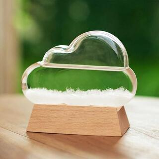 グラス クラウド 天気予報/気圧 結晶 インテリア