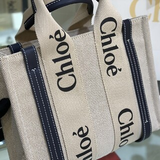 Chloe - Chloe クロエWoodyトートバッグ