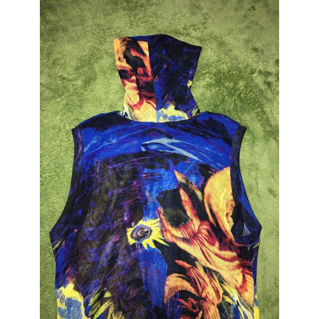 Jean-Paul GAULTIER(ジャンポールゴルチエ)のJEAN PAUL GAULTIER パワーネットノースリーブ  レディースのトップス(Tシャツ(半袖/袖なし))の商品写真