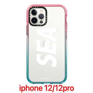 Casetify WDS CASE Clear-Pink-Blue(iPhoneケース)