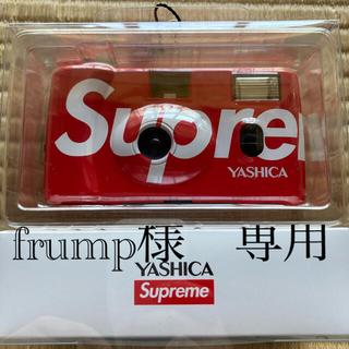 シュプリーム(Supreme)のsupreme シュプリーム カメラ YASHICA レッド 新品(フィルムカメラ)