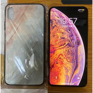アイフォーン(iPhone)のiphone XS MAX 64GB ゴールド Simフリー(携帯電話本体)