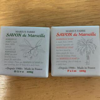 マリウス ファーブル サボン ド マルセイユ 無香料100g 2個セット(ボディソープ/石鹸)