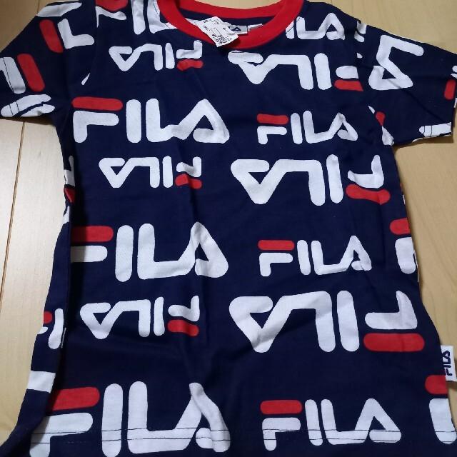 FILA(フィラ)のFILA 子供服 洋服 110cm 半袖 夏 キッズ/ベビー/マタニティのキッズ服男の子用(90cm~)(Tシャツ/カットソー)の商品写真