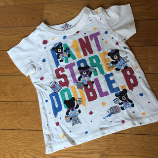 DOUBLE.B - ダブルビー ミキハウス Tシャツ