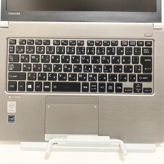 東芝(トウシバ)のMSオフィス付第5世代i7フルHD液晶ダイナブックR63Pメモリ8G スマホ/家電/カメラのPC/タブレット(ノートPC)の商品写真