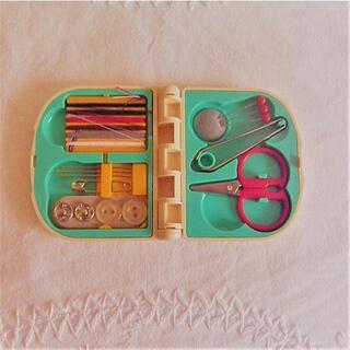 ミッキーマウス - ミッキーマウス ミニ裁縫セット ソーイングセット