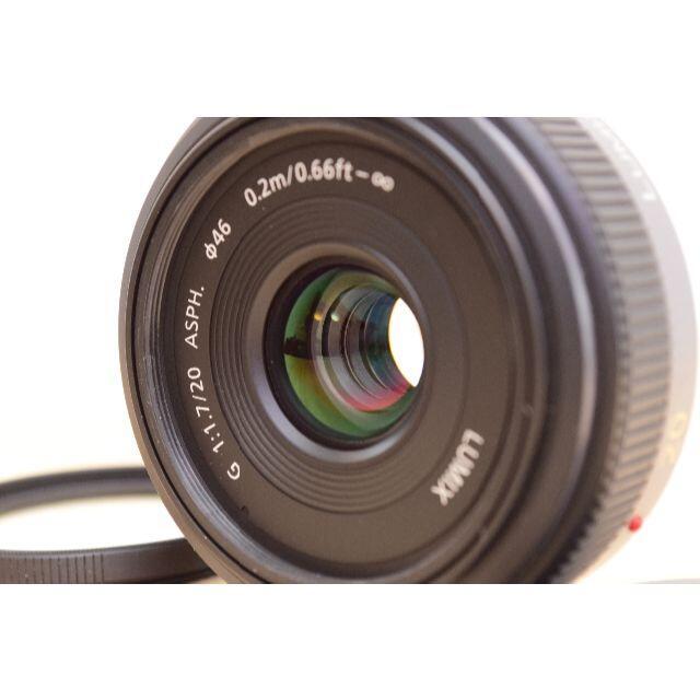 Panasonic(パナソニック)のE04/ Panasonic LUMIX G 20mm F1.7 /3127C スマホ/家電/カメラのカメラ(レンズ(単焦点))の商品写真
