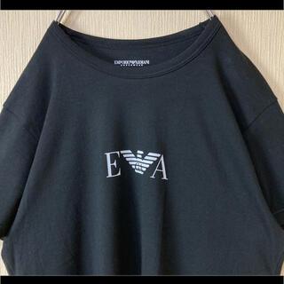 エンポリオアルマーニ(Emporio Armani)のエンポリオアルマーニ ARMANI Tシャツ 半袖 ブラック ロゴプリント S(Tシャツ/カットソー(半袖/袖なし))