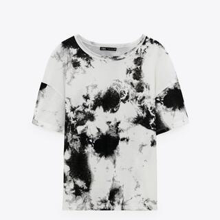 ZARA - 大人気★ZARA タイダイ柄Tシャツ 即発送 Lサイズ 新品未使用