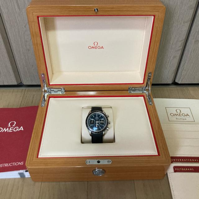OMEGA(オメガ)のmido様専用⭐︎レザーベルト⭐︎ステンレスベルト付きスピードマスターレーシング メンズの時計(腕時計(アナログ))の商品写真