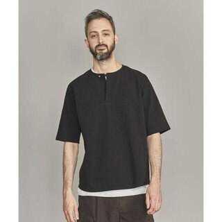 ビューティアンドユースユナイテッドアローズ(BEAUTY&YOUTH UNITED ARROWS)のBY ネップ スキッパー Tシャツ -MADE IN JAPAN-(Tシャツ/カットソー(半袖/袖なし))