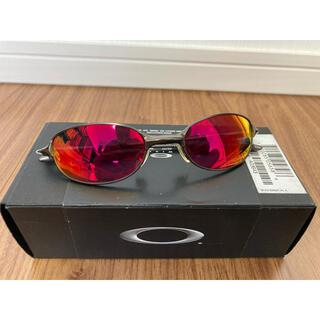 オークリー(Oakley)のオークリーメタルサングラス Pewter  x Ruby(サングラス/メガネ)