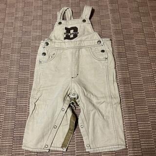 タケオキクチ(TAKEO KIKUCHI)のTAKEOKIKUCHI DASH オーバオール サイズ90(Tシャツ/カットソー)