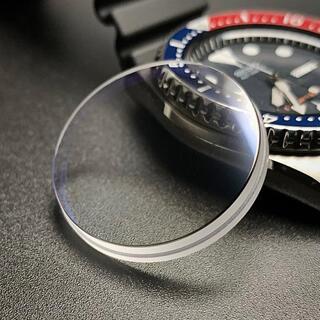 セイコー(SEIKO)のSEIKO SKX007  風防 サファイアクリスタル ダブルドーム ブルーAR(腕時計(アナログ))