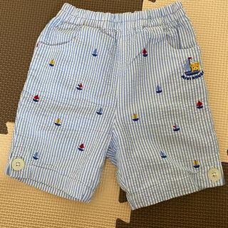 mikihouse - ミキハウス MIKIHOUSE 90ハーフパンツ 美品