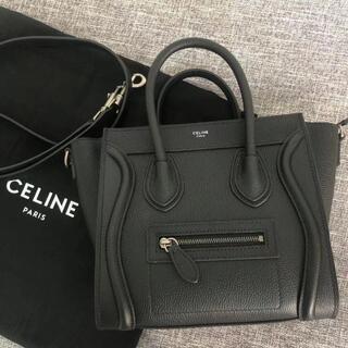 celine - CELINE ラゲージ ナノ ブラック セリーヌ