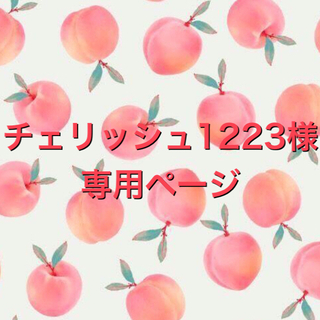 チェリッシュ1223様専用ページ✿アロマワックスサシェ(アロマ/キャンドル)