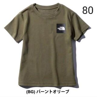 THE NORTH FACE - 【新品】ノースフェイス キッズ 80 半袖Tシャツ
