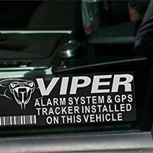 ☆VIPER バイパー セキュリティステッカー 自動車/バイクの自動車(セキュリティ)の商品写真
