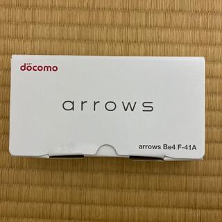 アローズ(arrows)の【新品】docomo arrows Be4 F-41A  SIMロック解除(スマートフォン本体)