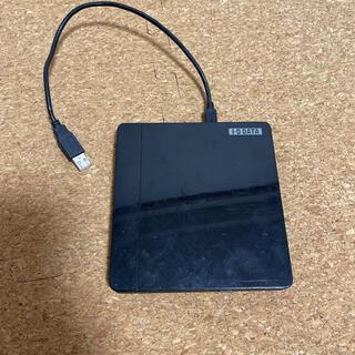 アイオーデータ(IODATA)のI-O DATA バスパワー対応ポータブルDVDドライブ DVRP-UA8VK (PC周辺機器)