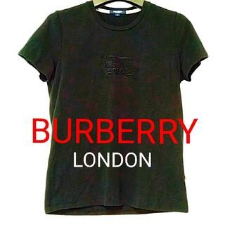 BURBERRY - 美品♦バーバリー BURBERRY ブラック Tシャツ 夏 ブランド 半袖 人気