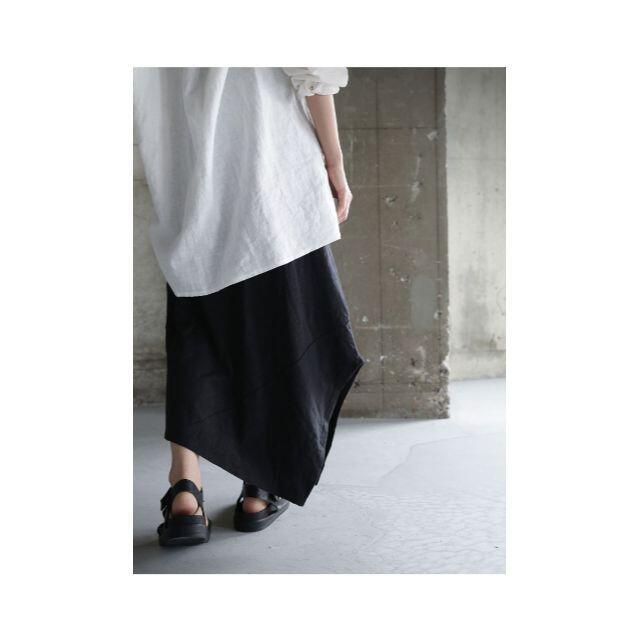antiqua(アンティカ)の【antiqua】変形 デザイン シルエット スカート 【アンティカ】 レディースのスカート(ロングスカート)の商品写真
