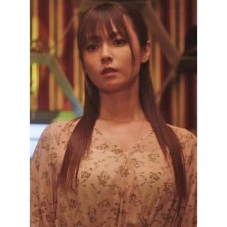 アバンリリー(Avan Lily)のAVANLILY カシュクールワンピース ルパンの娘2深田恭子さん着用(ロングワンピース/マキシワンピース)