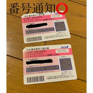株主優待券 ANA(航空券)