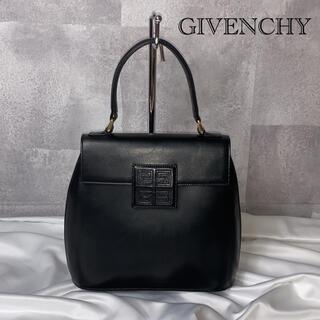 GIVENCHY - 【激レア!】ジバンシー ミニハンドバッグ ヴィンテージ レトロ レザー ブラック