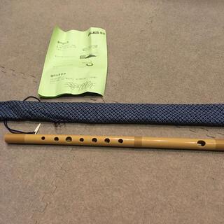 美品 説明書付き 篠笛 トヤマ楽器製造(横笛)