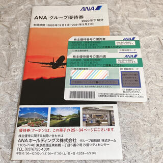 ANA 株主優待券 2枚セット(航空券)