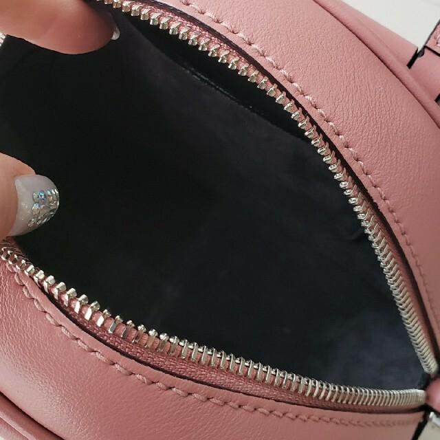JIMMY CHOO(ジミーチュウ)の極美品【ジミーチュウ】VARENNE BOWLING MINI ハンドバッグ レディースのバッグ(ハンドバッグ)の商品写真