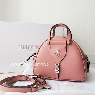 JIMMY CHOO - 極美品【ジミーチュウ】VARENNE BOWLING MINI ハンドバッグ