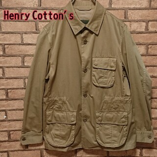 HenryCotton's ヘンリーコットン メンズ ブルゾン(ブルゾン)