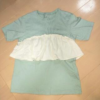 GU - GU ジーユー キッズ 半袖Tシャツ 130 女の子