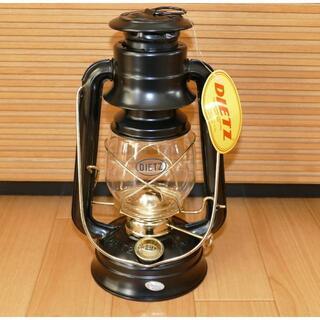 ペトロマックス(Petromax)のDietz #76 デイツ ハリケーンランタン ブラック/ゴールド (黒/金)(ライト/ランタン)